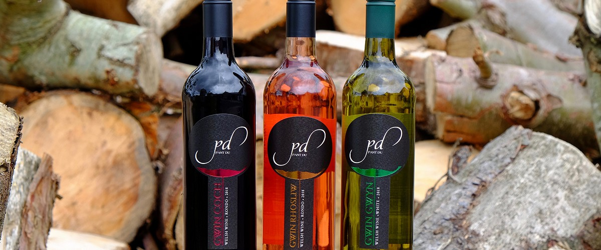 Our wine available at Pant Du